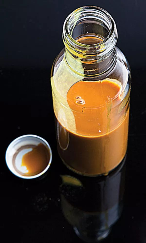 This mustard-based sauce tastes great with chicken and pork. See the recipe »