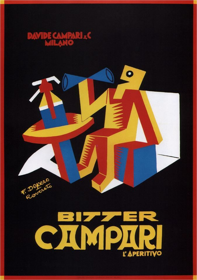 Fortunato Depero - Bitter Campari (1928)