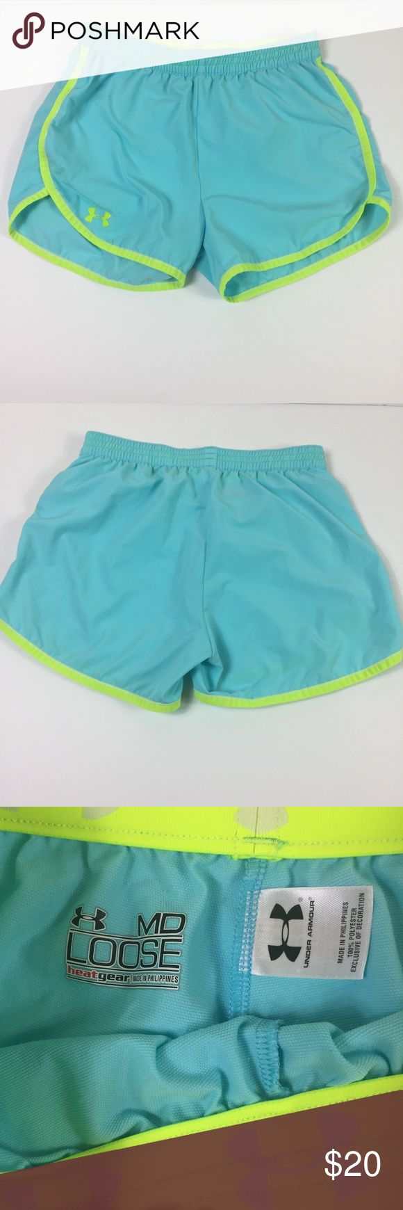 [Under Armour] shorts Real/lime Neon green shorts No Trades! Offers Welcome Under Armour Shorts