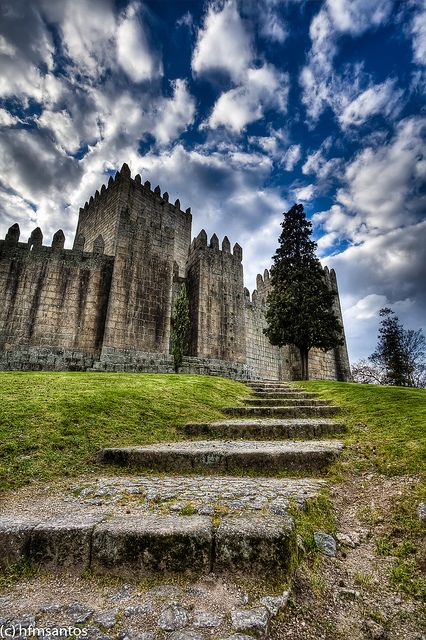 Castelo de Guimarães #Portugal