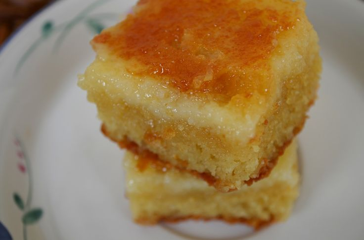 For the Love of Dessert: Creme Brulee Bars (Neiman Marcus Bars)