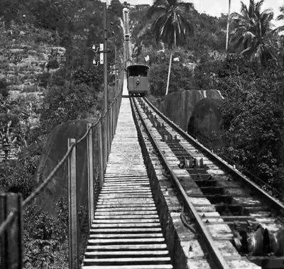 Vernicular Railway - Penang Hill 60's