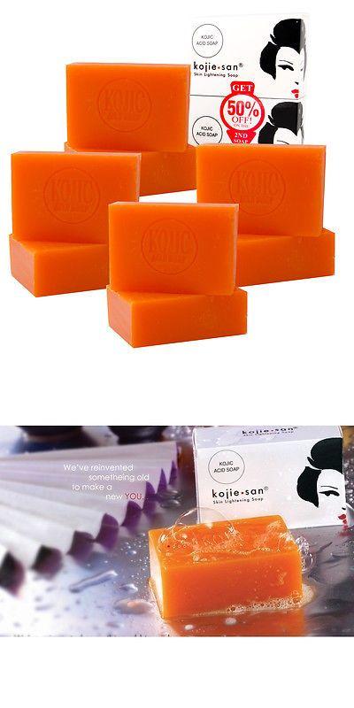 Lightening Cream: 8 Bars Of 135Gm Kojie San Skin Lightening Kojic Acid Soap - 4 Packs Of 2 Bars -> BUY IT NOW ONLY: $35.59 on eBay!