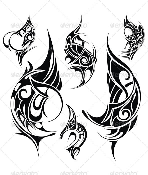 202 best vectors images on pinterest font logo fonts for Vector tattoo sleeve