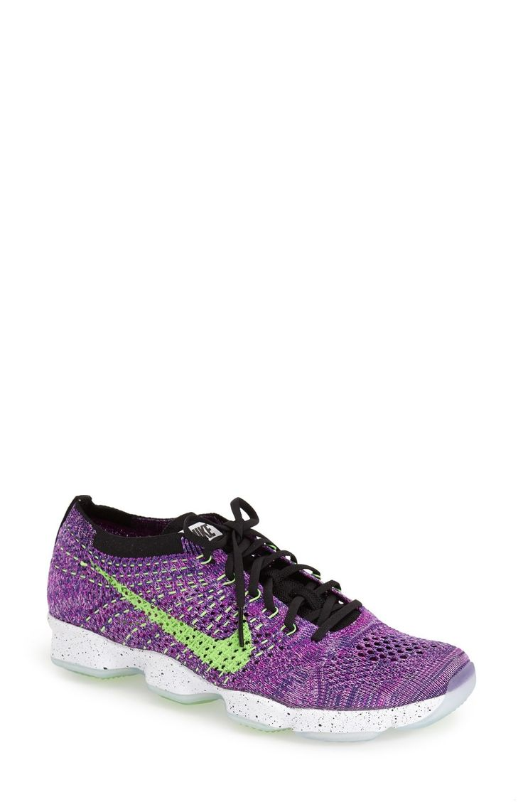 Free shipping and returns on Nike 'Flyknit Zoom' Agility Training Shoe (Women) at Fashiondoxy.com. Ideal for hard-training gym sessions, this breathable, high-performance mesh shoe features an articulated Zoom Air midsole, complete with strategically plac.