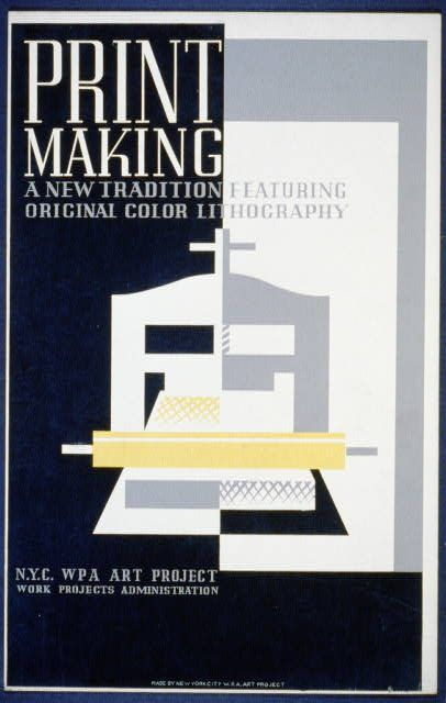 Print making : A new tradition featuring original color lithography.