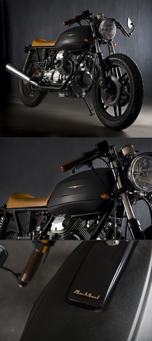 Moto Guzzi V35 Black Boot - created via http://pinthemall.net