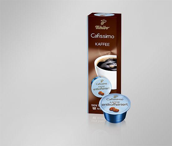 Káva bez kofeinu, 10 kapslí