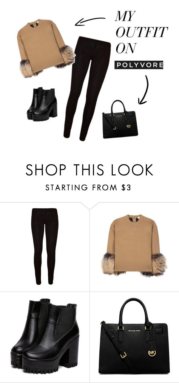 """femine"" by maikoyt on Polyvore featuring Michael Kors and MICHAEL Michael Kors"