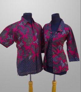 Batik Printing Sarimbit Pria Wanita Terbaru Motif Abstrak Kode SR 4 Kirim SMS ke 082134923704