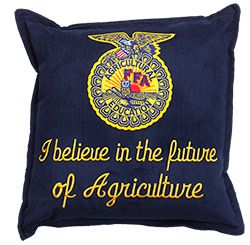 I believe in the future of Agriculture corduroy pillow - Shop FFA