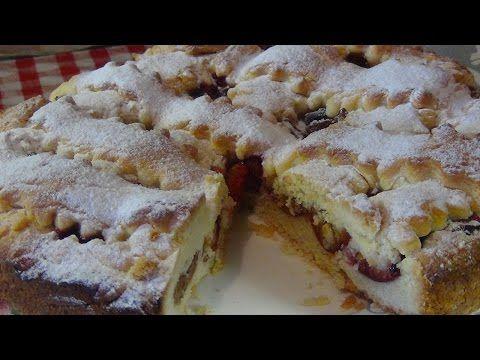 Безумно вкусный пирог со сливами - YouTube