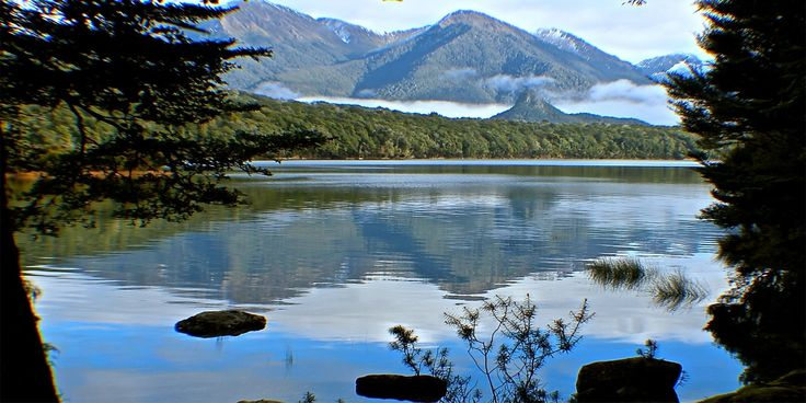 Accommodation Fiordland, Accommodation Manapouri track has a beautiful bird's eye view of the lake, Back valley track, Forest Burn and Kepler track.