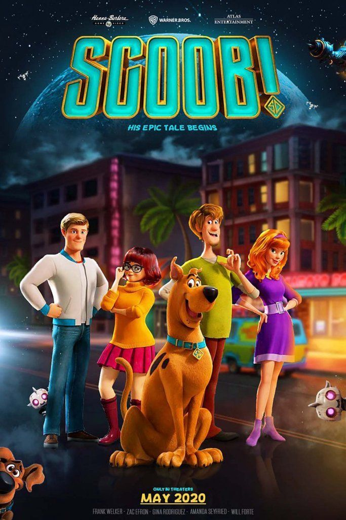 The Latest Animated Movie Of 2020 Produced By Warner Bros Another Reboot Of An Iconic Franchise Another Vod Scooby Doo Movie Scooby Doo Images New Scooby Doo