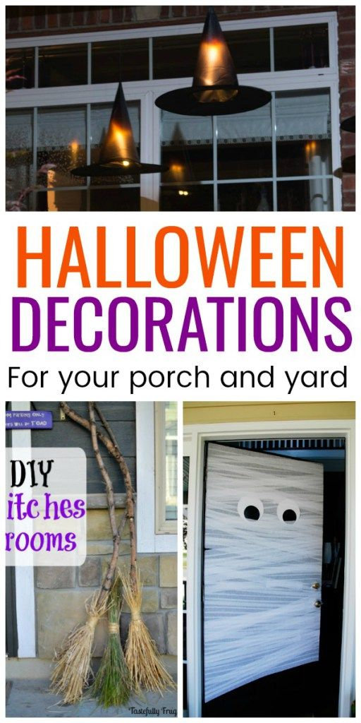 Do It Yourself Halloween Decorations For Outside.Diy Halloween Decoration Ideas Halloween Decorations Diy