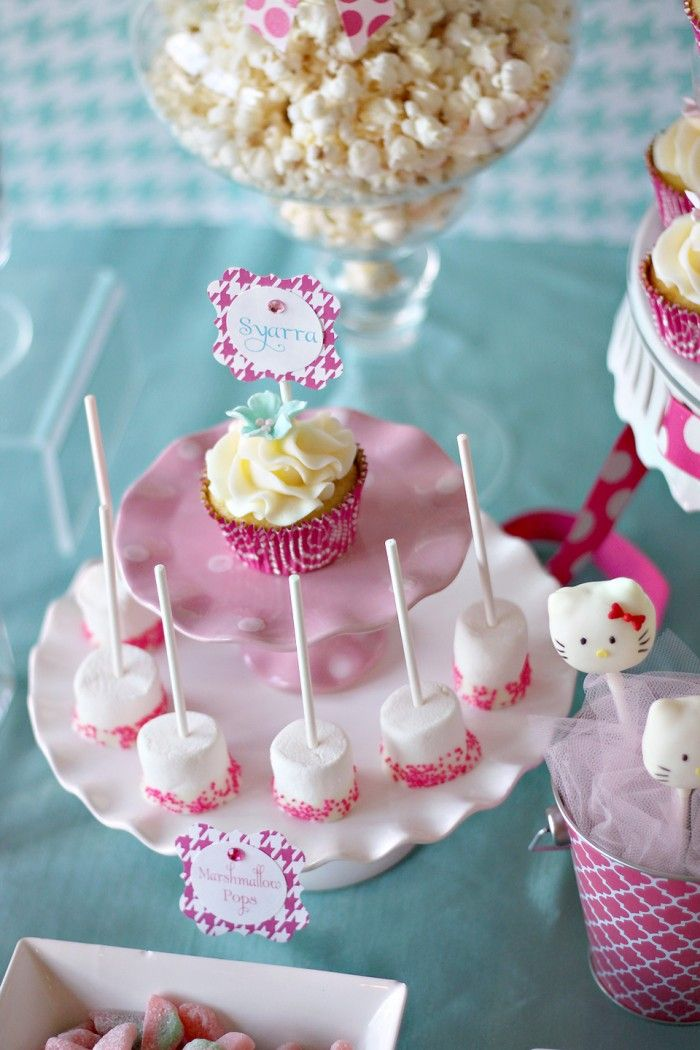 144 Best My Daughters Hello Kitty Party Images On Pinterest