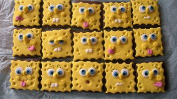 funny faces biscuits