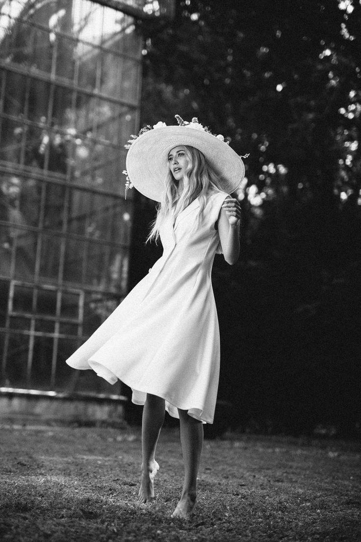 Sinestezic | White Peony Dress | Nature's Noise Collection