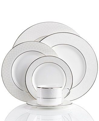 Lenox Dinnerware, Venetian Lace Collection - Fine China - Dining & Entertaining - Macy's Bridal and Wedding Registry