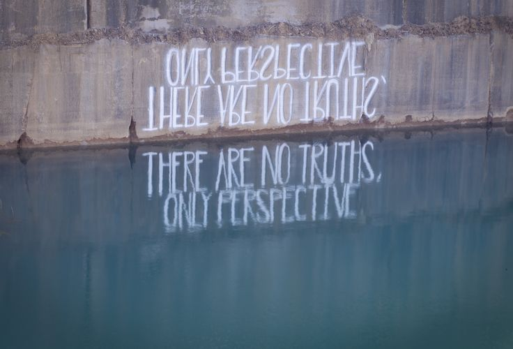 There are no truths - only perspectives– HULA