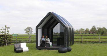 風船みたいに膨らます家!思い立ったらすぐ建てられる、おもちゃみたいなガーデンハウス「AirClad」