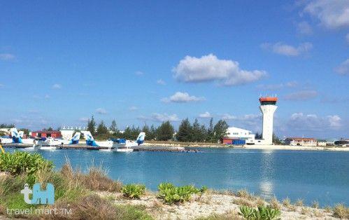 Flughafen auf Male, Malediven