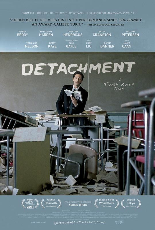 Doing outreach and engagement in the education reform and educator community. Watch it on VOD and iTunes on February 24th! In select theaters March 16th www.detachment-film.com