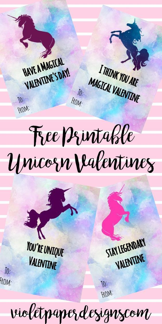 image relating to Free Printable Unicorn Valentines identify No cost Printable Unicorn Valentines Best Weblogs - Pinterest
