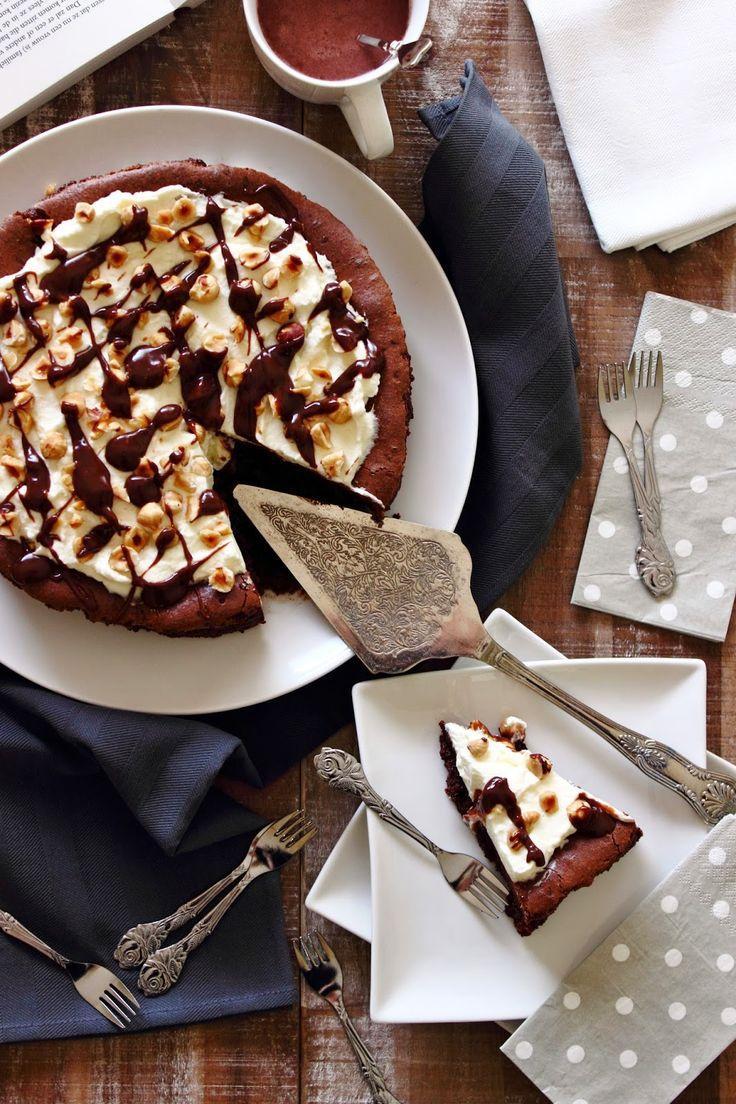 Zoet & Verleidelijk: Chocolademoussetaart met hazelnoten