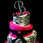 Birthday Cake Ideas: Sweet 16, Cake Ideas, Hot Pink, Zebra Cakes, Party Ideas, Zebra Print, Birthday Ideas, Zebras, Birthday Cakes