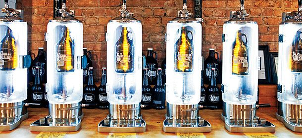 Growler filling stations? Now that is a great idea.