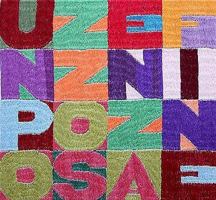 Alighiero Boetti tapestry