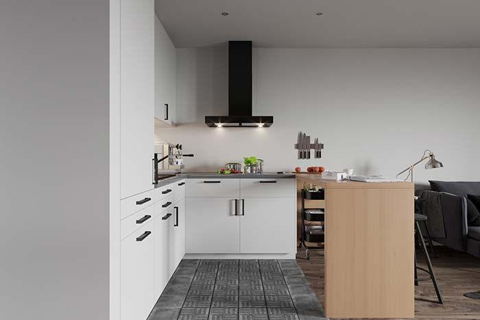 Cozinha Preta E Branca 60 Modelos Apaixonantes Na Decoracao Dekorationsbilder Cozinha Preta E Branca Cozinha Preta Interior De Apartamentos