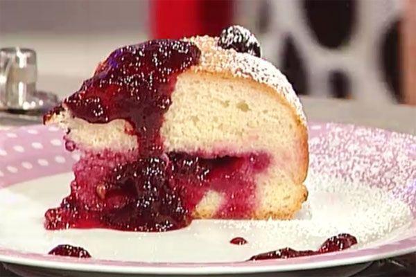 Ricetta Focaccia dolce all'uva fragola - Sergio Barzetti