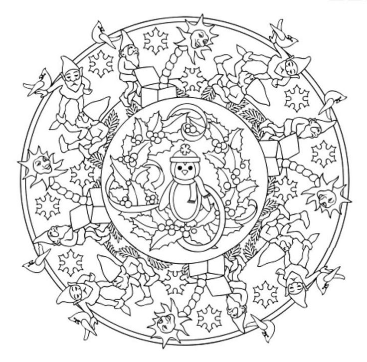 92 best images about Mandala - Christmas & Winter on ...