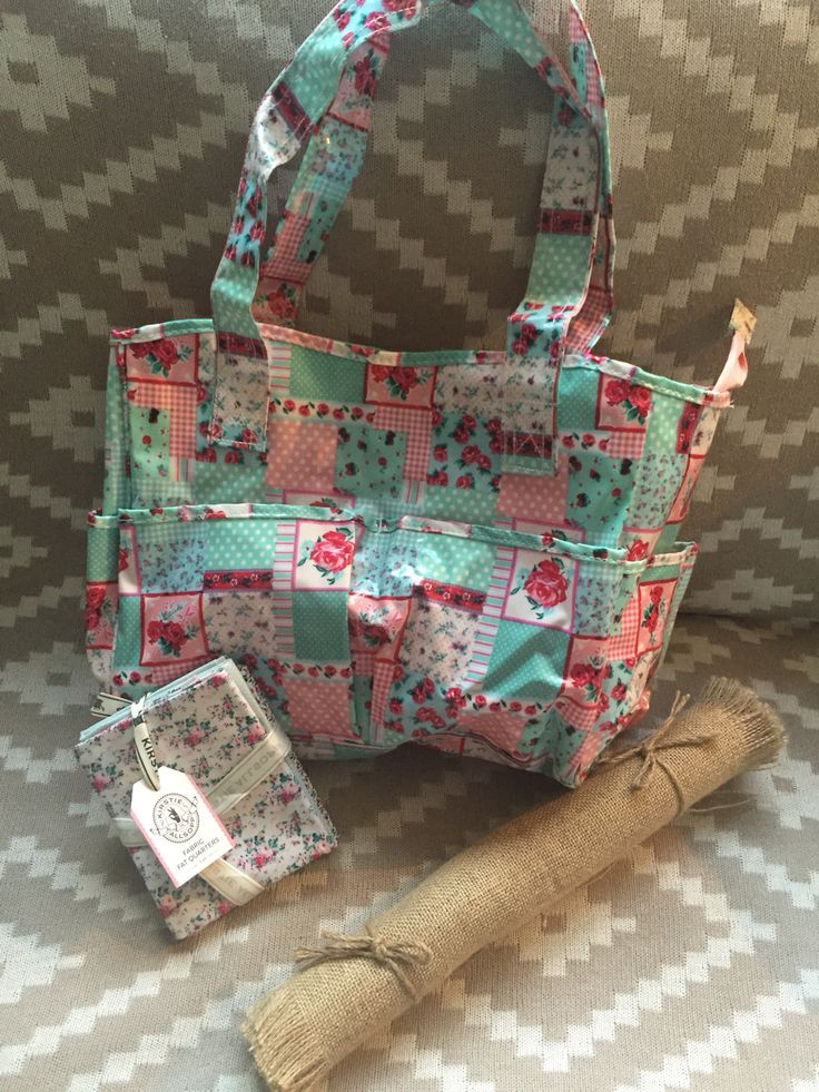 Cute sewing bag - Kirsty allsop fabric can't wait to create something cute with this