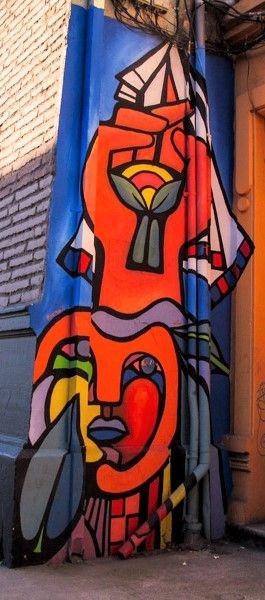 Murales de manos en la Calle Esperanza