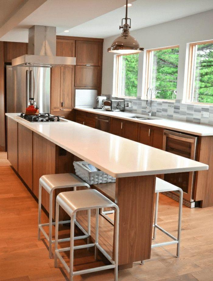 1001 Ideas Sobre Decoracion De Cocinas Con Isla Decoracion De Cocina Moderna Diseno De Cocina Islas De Cocina
