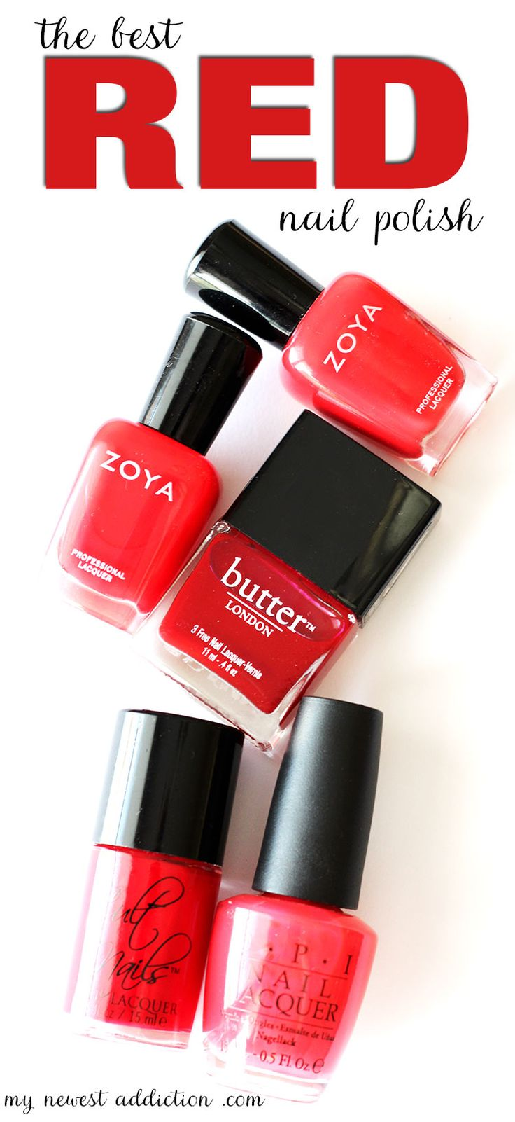 1000 Ideas About Red Nail Polish On Pinterest Red Nails Nail