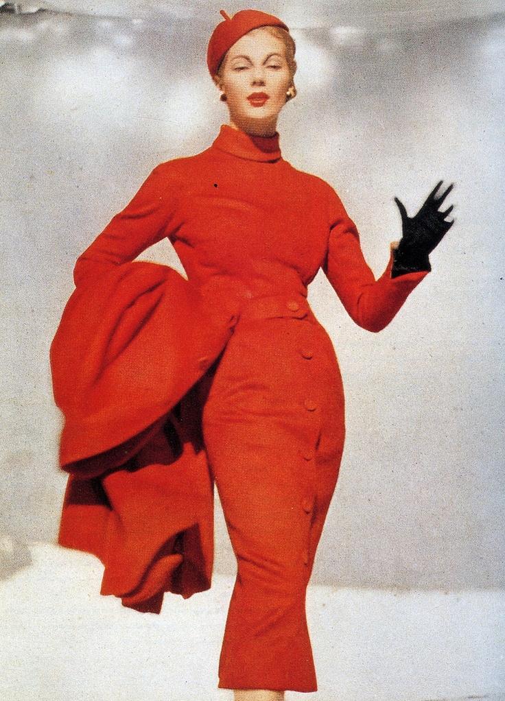 Dior, Red Pepper, 1953
