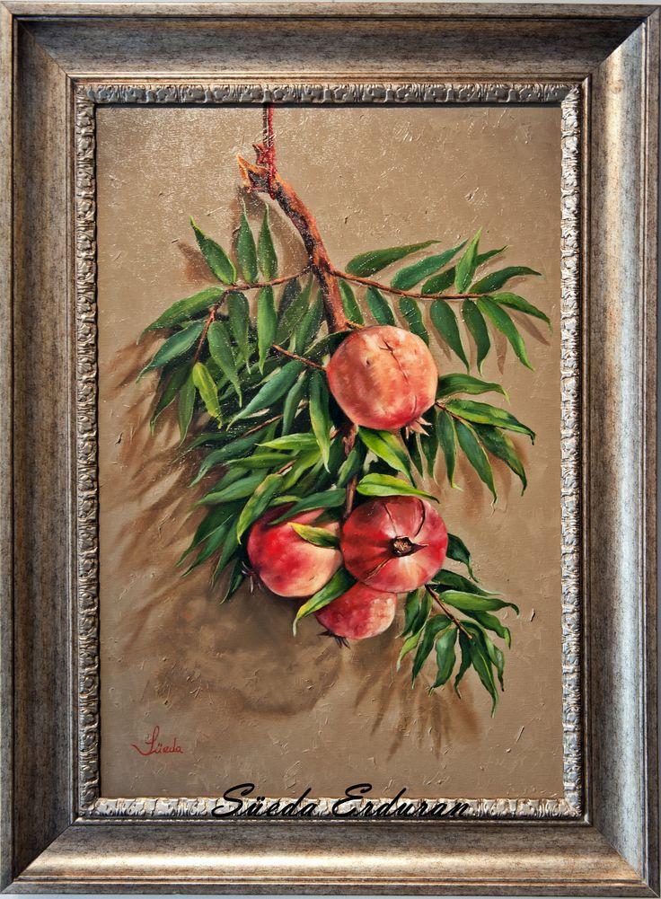 Oil painting made by Süeda Erduran