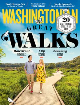 May 2015 Cover: 20 great places to walk, from low-impact strolls to seriously strenuous hikes.