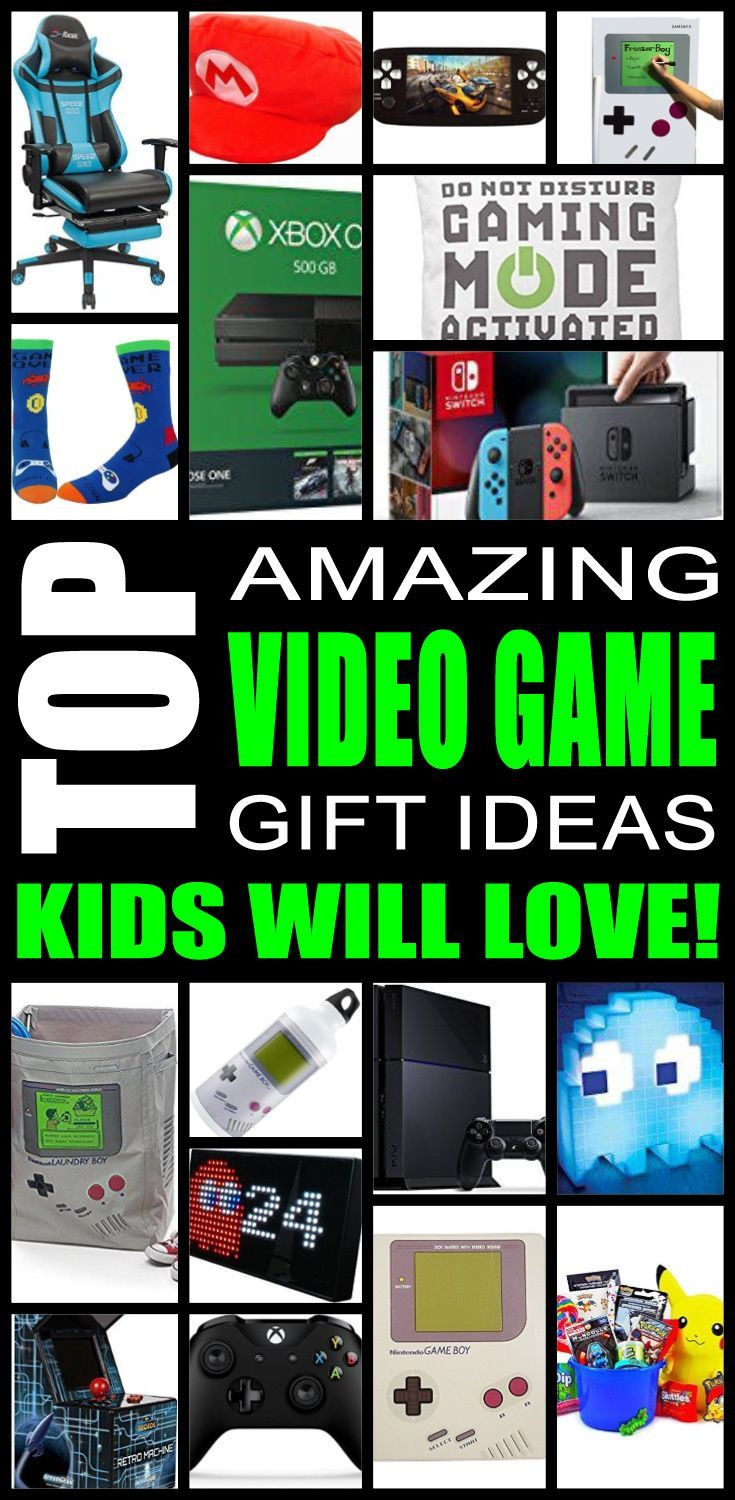 Top Video Game Gifts Kids Will Love Video Games Gift Gaming Gifts Video Games For Kids