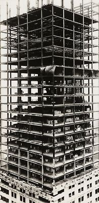 Walker Evans  Chrysler Building under construction, New York, 1929