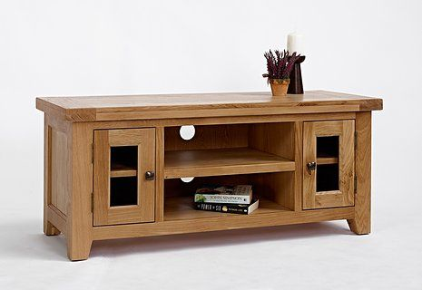 Devon Oak Large TV Unit http://solidwoodfurniture.co/product-details-oak-furnitures-5139-devon-oak-large-tv-unit.html