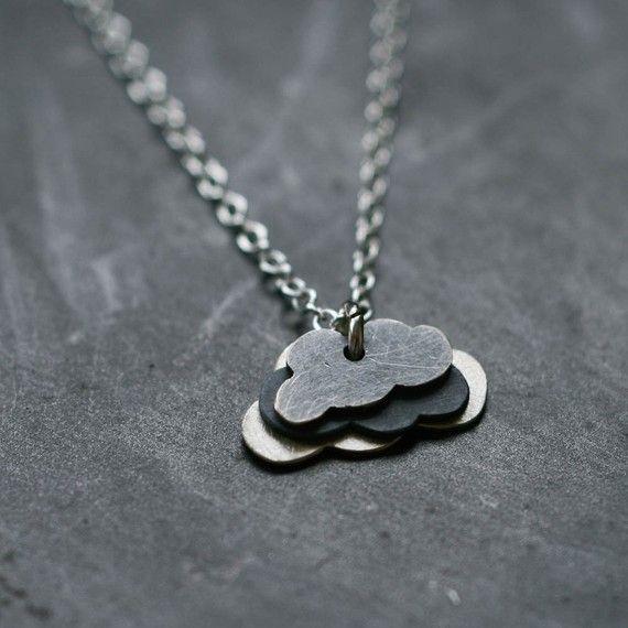 Lovely little cloud necklace - want!