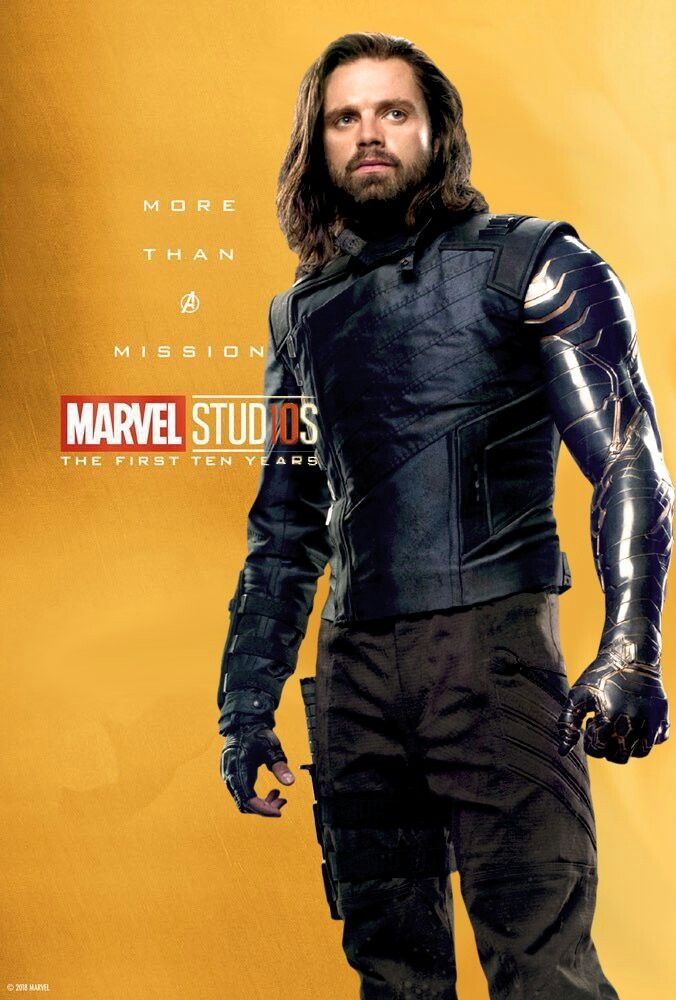Marvel Studios The First 10 Years Winter Soldier/White
