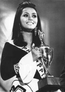 Vida Valentina Doria    Miss Photogenic  Miss Universe 1971