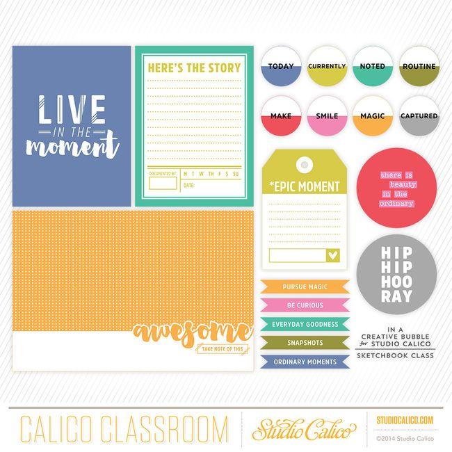 Sketchbook 2015 at @studio_calico