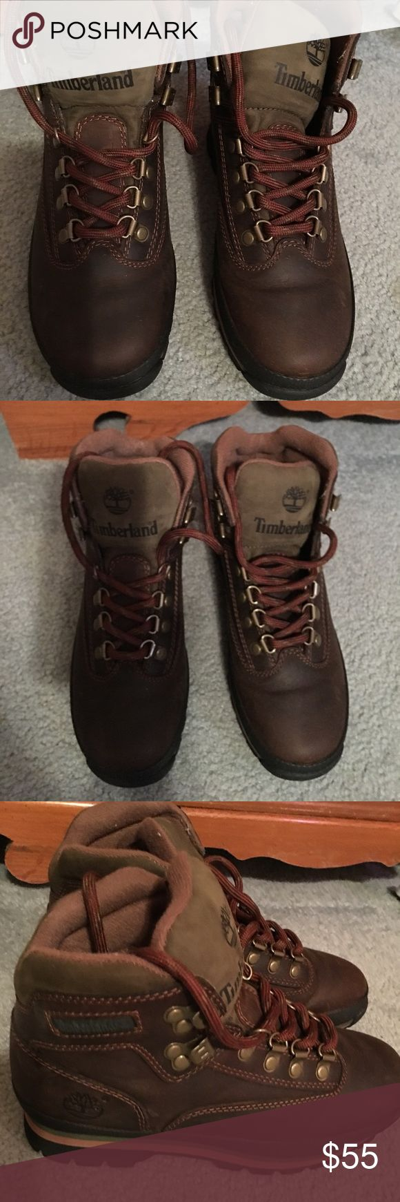 Timberland hiking boots timberland hiking boots leather great condition Timberland Shoes Ankle Boots & Booties